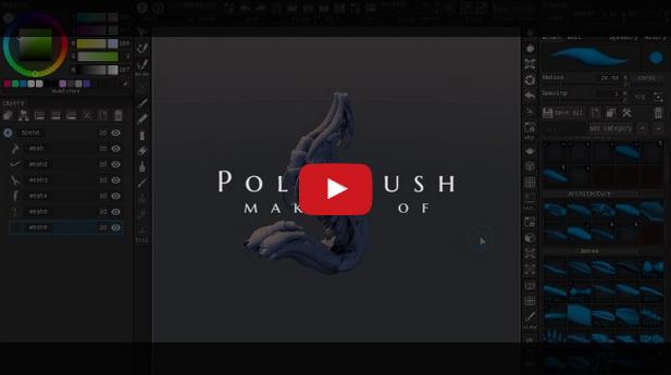 アーティスト向け3Dソフト Polyb...