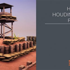 Houdini 17 マスタークラス:Vellum クロス(データダウンロード