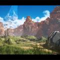 Unreal Engine 4 + Quixel 製品 使用、『Halo』の象徴的マップ Blood Gulch のメイキング(データダウンロード/ ※英語ムービー)