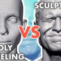 ポリゴンモデリングとスカルプト どっちがいいの!?: Poly Modeling vs Sculpting