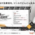 ゲーム・アニメ・映像制作向け、SF系効果音作成ツール「DSP Sci-Fi」リリース